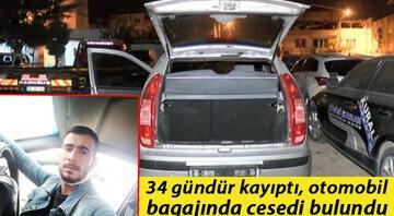 Sinan Sönmez 34 gündür kayıptı, otomobil bagajında cesedi bulundu Sır olayda 5 gözaltı