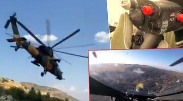 MSB duyurdu Atak helikopteri ile etkisiz hale getirildiler