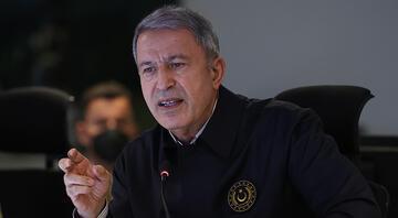 Bakan Akar duyurdu: Biri sözde bölge sorumlusu 7 terörist etkisiz hale getirildi