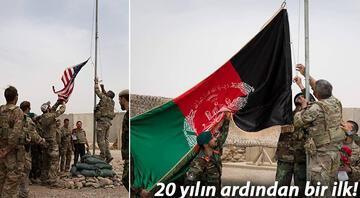 Tarihe geçen görüntü... ABD resmen çekildi: Bayraklar yer değiştirdi