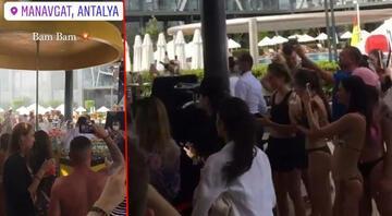 Manavgattaki otelde çekilen görüntüler tepki çekmişti Antalya Valisi açıkladı: O otel kapatıldı