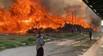 Afyonkarahisar'da biyoenerji tesisinde yangın