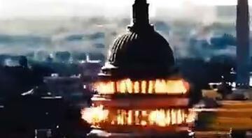 İran simülasyon video ile ABD Kongre Binasını vurdu