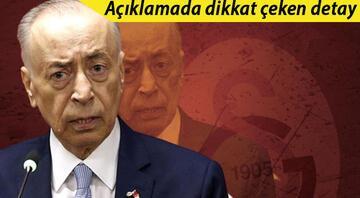 Son dakika: Galatasarayda Mustafa Cengiz aday olmayacağını açıkladı