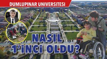 Dumlupınar Üniversitesi nasıl 1'inci oldu