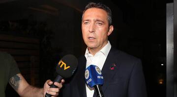 Fenerbahçe Başkanı Ali Koçtan galibiyet sonrası şampiyonluk ve Emre Belözoğlu sözleri