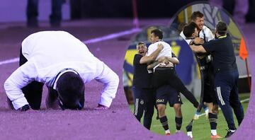 Ankaragücü-Fenerbahçe maçında Valencianın golü sonrası Emre Belözoğlundan olay yaratan sevinç