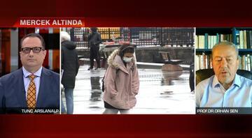 Prof. Dr. Orhan Şenden canlı yayında peş peşe uyarılar: Kar yağışı ve sağanağa dikkat