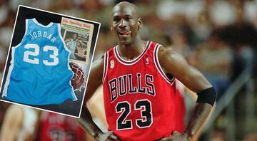 Michael Jordanın üniversitede giydiği forma 1,38 milyon dolara satıldı