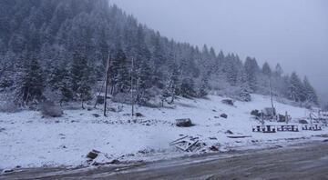 Rizenin yaylalarında Mayıs ayında kar sürprizi