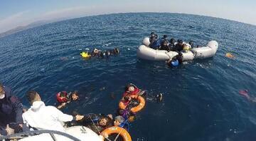 Sahil Güvenlik, 5 ayda Yunanistanın geri ittiği 1286 göçmeni kurtardı