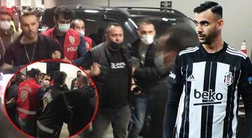 Beşiktaş-Fatih Karagümrük maçından sonra olay Ghezzalın menajeri gözaltına alındı