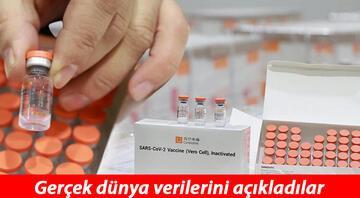 Sinovac aşısının gerçek dünya verileri açıklandı İşte Türkiyenin de kullandığı aşının etki oranı