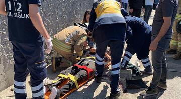 Çekmeköyde kaza 2 kişi yaralandı...