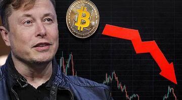Elon Muskın tek bir tweetiyle kripto paralar tepetaklak… Düşüş devam eder mi