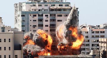 İsrail, AP ve Al Jazeera ofislerinin binasını yerle bir etti