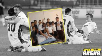 O çocuklar büyüdü ve Beşiktaşı şampiyon yaptı