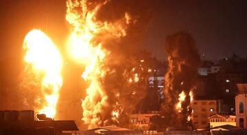 İsrail katliama devam ediyor Çok sayıda nokta bombalandı