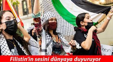 İsrail devleti Filistine destek veren ünlü modeli hedef gösterdi