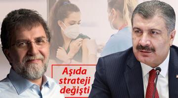 """Bakan Koca Ahmet Hakana konuştu: 20 yaş üstü haziranda.. """"Sorun çözüldü"""""""