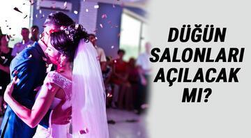 Düğünler nasıl olacak Düğün ve nişanlar pazar günü yasak mı, düğün salonları açıldı mı İşte İçişleri Bakanlığı genelgesi ile düğün şartları..