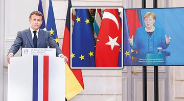 Merkel ve Macron'dan şartlı destek... Berlin ve Paris'ten kritik işbirliği mesajı