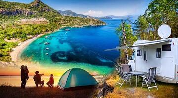 Hem deniz, hem kamp mümkün 10 şehirden 20 uygun fiyatlı öneri...
