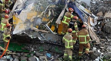 Güney Korede 5 katlı bina çöktü: 9 ölü, 8 yaralı