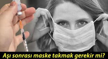 DSÖden koronavirüs aşısı sonrası maske uyarısı