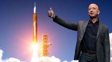 Jeff Bezos ile uzaya gitmek için servet ödedi Dudak uçuklatan rakam...