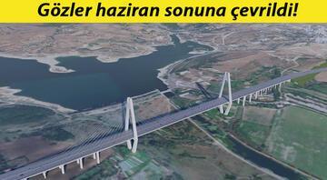 Kanal İstanbulun ilk köprüsünün detayları belli oldu...Toplam uzunluğu 1618 metre olacak.