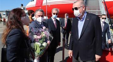 Kritik NATO Zirvesi için Brüksele gelen Cumhurbaşkanı Erdoğandan peş peşe temaslar