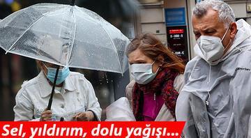 Meteorolojiden İstanbul, Ankara, İzmir dahil çok sayıda kente sarı uyarı Sağanak etkili olacak
