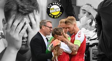 Christian Eriksene kalp masajı yapılırken stadyumda ve sahada neler yaşandı Kahramanlar o anları anlattı... Simon Kjaer ise bunu yalnızca ailesine itiraf edebildi...