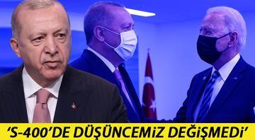 Cumhurbaşkanı Erdoğandan Biden görüşmesi sonrası ilk açıklama Yararlı ve samimi bir görüşme oldu
