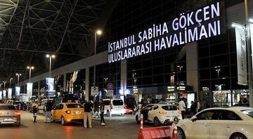 İstanbulda bazı uçuşlara yağmur engeli