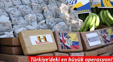 Ticaret Bakanı Muş duyurdu Türkiyede yapılan en büyük kokain operasyonu...