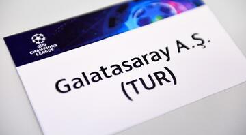 Galatasarayın Şampiyonlar Ligindeki rakibi belli oldu