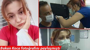 Sağlık Bakanı Koca fotoğrafını paylaşmıştı Sabire hemşire konuştu