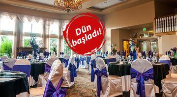 Düğünlerde yeni dönem fiyatlara da yansıyacak Flaş zam açıklaması