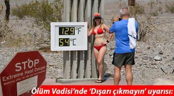 ABD tam anlamıyla kavruluyor... 108 yılın ardından termometreler 54 dereceyi gösterdi