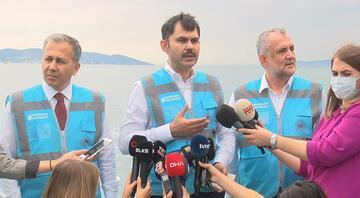 Bakan Kurumdan dikkat çeken müsilaj açıklaması: Marmara Denizini kısa sürede eski haline getireceğiz
