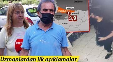 İstanbul Kartalda 3.9 büyüklüğünde deprem.. İşte gelen ilk açıklamalar