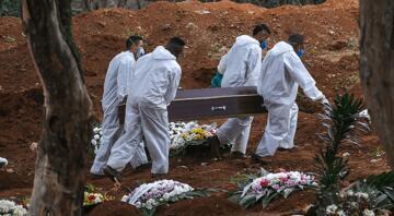 Brezilyada Kovid-19 nedeniyle hayatını kaybedenlerin sayısı yarım milyonu geçti