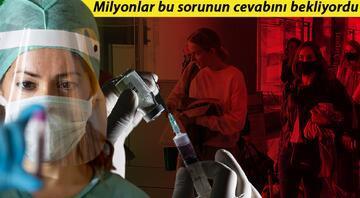 Son dakika haberler: Koronavirüs aşısı kısırlık yapıyor mu Araştırma sonuçları açıkladı