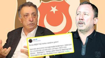 Son Dakika Beşiktaş Haberi: çArşıdan Sergen Yalçın krizi açıklaması