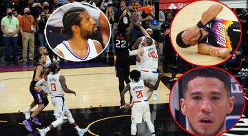 NBAde Suns - Clippers maçında inanılmaz son Paul George iki faul kaçırdı, 0.9 saniye kala maç döndü