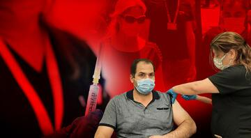 Yerli koronavirüs aşısı TURKOVACın yan etkisi var mı İlk gönüllülerden Hüseyin Polat konuştu
