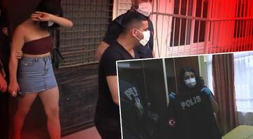 Mersinde fuhuş operasyonu Polis yeleği ele geçirildi