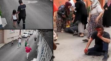 Mahalleyi ayağa kaldıran taciz iddiası Peşinden koşup tekme tokat dövdüler